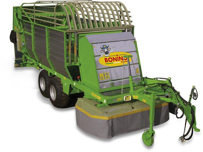 Carro-falcia-autocaricante-Bonino-pianura-due-assali-self-loading-grazing-wagon-flat-ground-two-axles-remorque-faucheuse-autochargeuse-à-deux-essieux