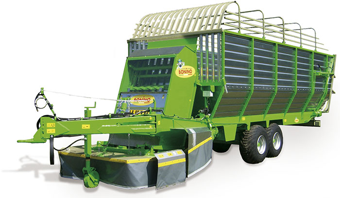 Carro-falcia-autocaricante-Bonino-pianura-grande-carico-self-loading-grazing-wagon-flat-ground-big-loads-remorque-faucheuse-autochargeuse-pour-gros-chargement