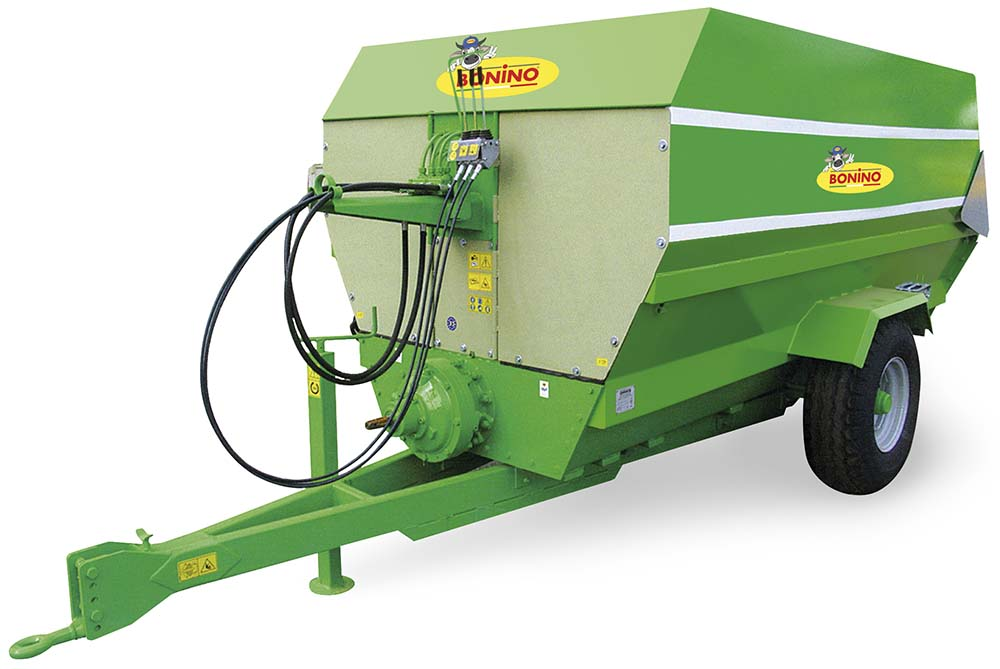 Bonino-carri-miscelatori-distributori-fino-8,5-m3-mixer-distributors-till-remorque-mélangeuse-distributrice-remolque-mezclador-de-forraje-distribuidor-hasta-Mischwagen-Verteilerwagen