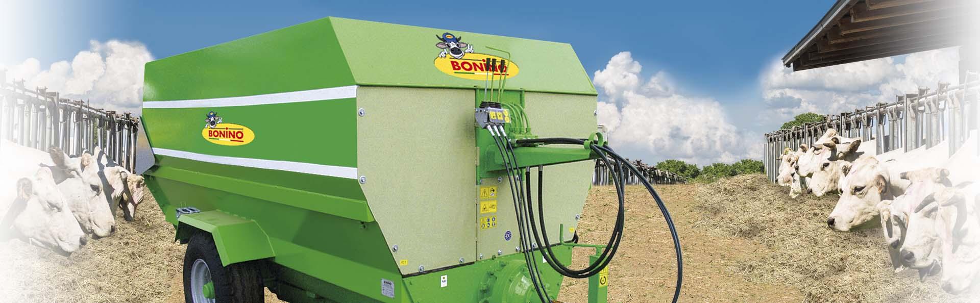 Bonino-miscelatori-distributori-mixer-distributor-wagons-mélangeuse-distributrice-mezclador-de-forraje-distribuidor-Mischwagen-Verteilerwagen